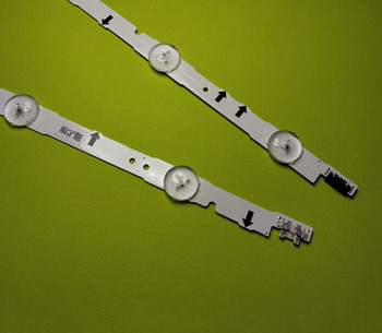 100% New  10 Pieces(5*3LED+5*6LED) UE40H6500 CY-GH040CSLV5H LED strip D4GE-400DCA-R1 R2 D4GE-400DCB-R1 R2 553mm+303mm