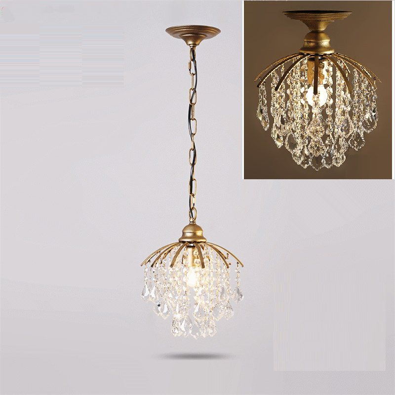 Pendant Lights Light Crystal Hanging Lamps Dining Room Luxury Chain Lamp Lighting Modern modern european dining room crystal pendant lights restaurant hanging lamps crystal kicth room pendant lamps