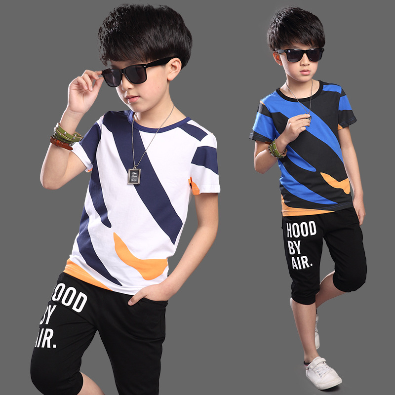 Baby Boys Clothing Set Toddler Cotton Baby Kids Clothes Summer Casual Children Suit Infant T-shirt+Pants 2Pcs Boy Suit