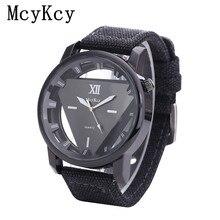 SHANGMEIMK luxury brand men watch hollow Non-mechanical watch outdoor sports Military watches Denim strap relogio masculino
