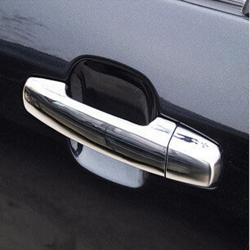 For Kia Sportage ABS Chrome Car Door Handle Cover Trim fits 2005- 2007 2008 2009 2010 Sportage Exterior Car Styling Accessories