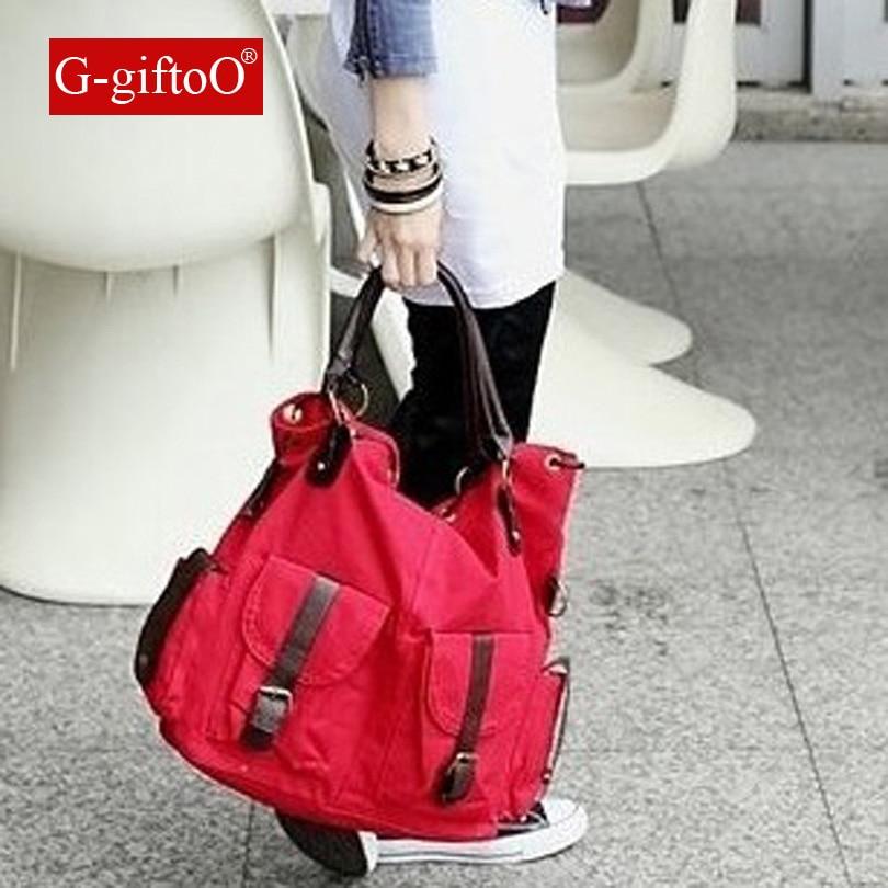Canvas Handbag Large Hobos Bag Sell Totes Bolsas Trapeze Ruched Solid Shoulder Bag