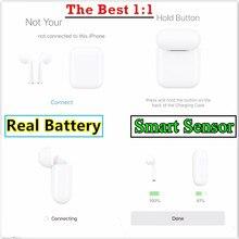 1 шт./ближе к оригинальный Смарт Сенсор реальные Батарея Pop up наушники-вкладыши TWS с Беспроводной Bluetooth наушники подключить наушники W1