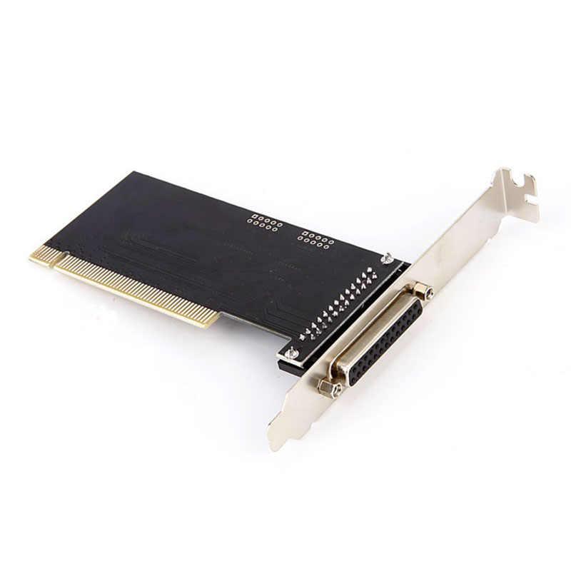 PCI Lpt 1 ميناء I/O 25pin الموازي LPT بطاقة PCI التوسع بطاقة محول PCI موازية 25pin DB25 منفذ الطابعة بطاقة وحدة التحكم