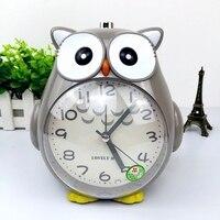 Light Alarm Clock Will Talk Lazy Music Creative Student Alarm Clock Table Mute Children Cartoon Dingdang Cat Cute Night