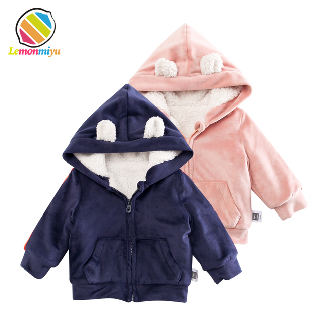 d928c90c707d Aliexpress.com   Buy Lemonmiyu Baby Cartoon Warm Hooded Jackets ...