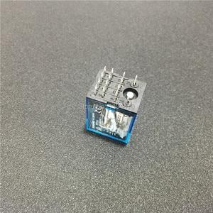 Image 4 - 10 セット MY4NJ HH54P DC 12 V 24 V 110 V 220 220v の Ac コイル電力リレー汎用ミニリレー 14 ピン 5A と PYF14A ソケットベース