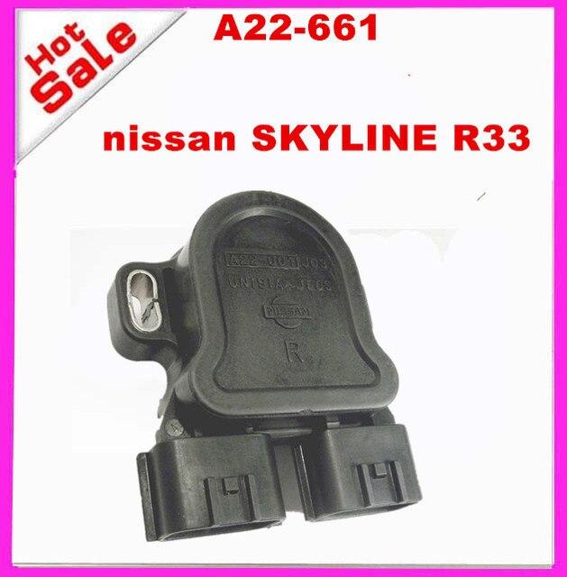 ORIGINAL SKYLINE R33 SERIES 2 RB25DET TPS SNEOSR Throttle Position Sensor A22-661 A22661 P01  P00