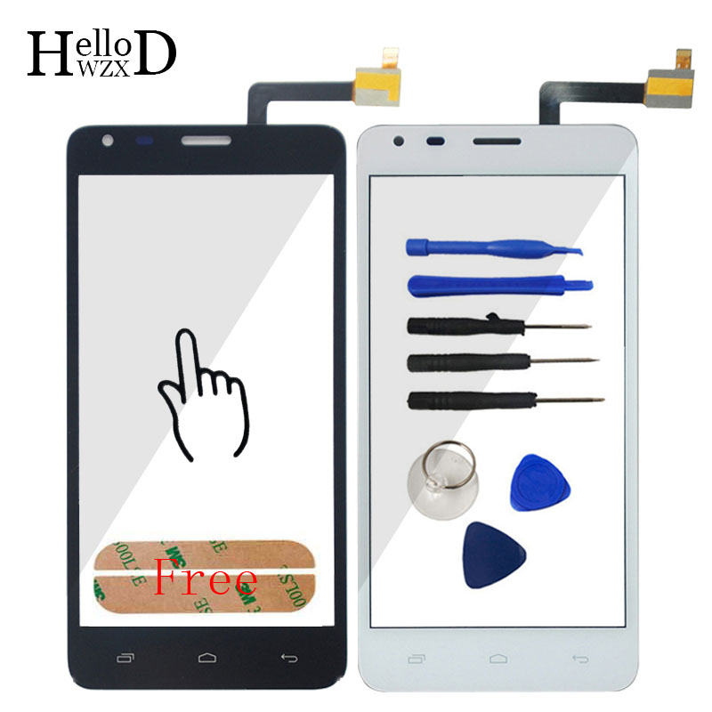 Touchscreen For Fly IQ456 ERA Life 2 IQ 456 Touch Screen Lens Sensor Digitizer Front Glass Repair Assebmly Parts Adhesive Tools ...