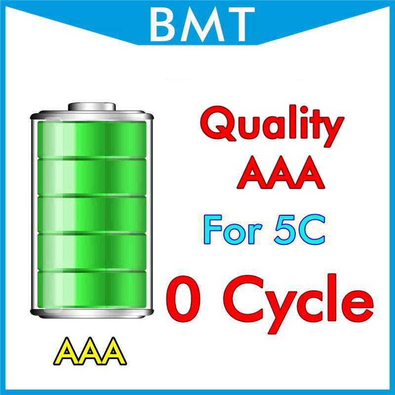 imágenes para BMT 10 unids/lote Calidad AAA 0 ciclo cero 1510 mAh 3.7 V reemplazo de La Batería para el iphone 5C BMTI5C0BTAAA