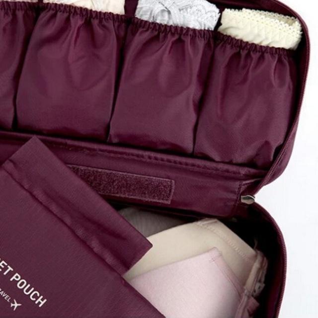 Portable Waterproof Travel UnderwearStorage Bag