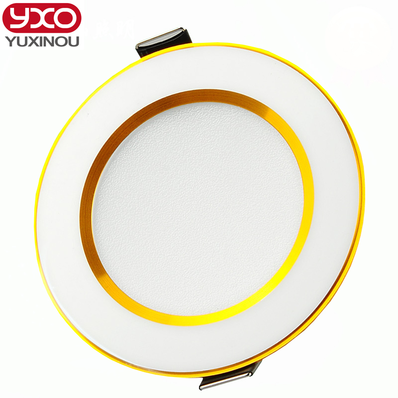 1PCS led downlight 5w 7w 9w 12w 15w 18w 30w dimmable led ceiling recessed grid downlight/slim round led panel Spot Recess light 20pcs waterproof driverless dimmable led downlight 5w 7w 9w 12w 15w ceiling lamp light lighting energy saving down lamp ac 220v
