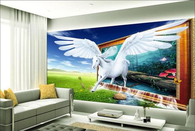 3d wallpaper custom room mural photo wall paper rural for Dream of painting a room white