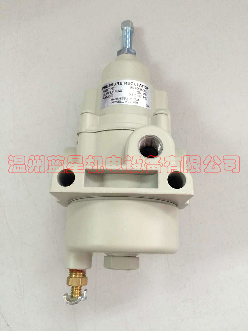 US filter regulator T50 Series 960-069-000 (silver band table)US filter regulator T50 Series 960-069-000 (silver band table)