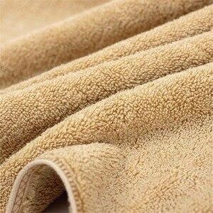 Image 3 - 100% turc coton petite serviette ensemble Super doux famille invité hôtel serviette couleur unie absorbant 75*35 cm 170G