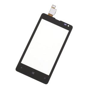 Image 2 - Digitalizador de pantalla táctil para Nokia, Sensor de pantalla táctil LCD, Panel de reemplazo, para Microsoft Lumia 435 532 N435 N532