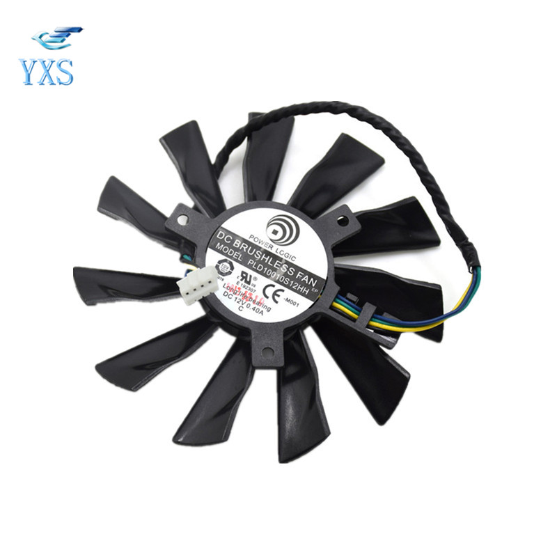 <font><b>R9</b></font>-280X <font><b>R9</b></font>-<font><b>270X</b></font> R7-260X Graphics Card Cooling <font><b>Fan</b></font> DC 12V 0.40A PLD10010S12HH image