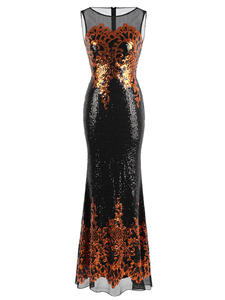 Angel-fashions Women's Evening Dresses Long Party Gown
