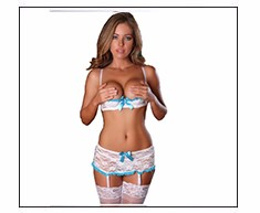 3b3714d23ee MILLYN perspective lace lingerie lady temptation babydoll lingerie sexy  Halloween gown short dress XXXL