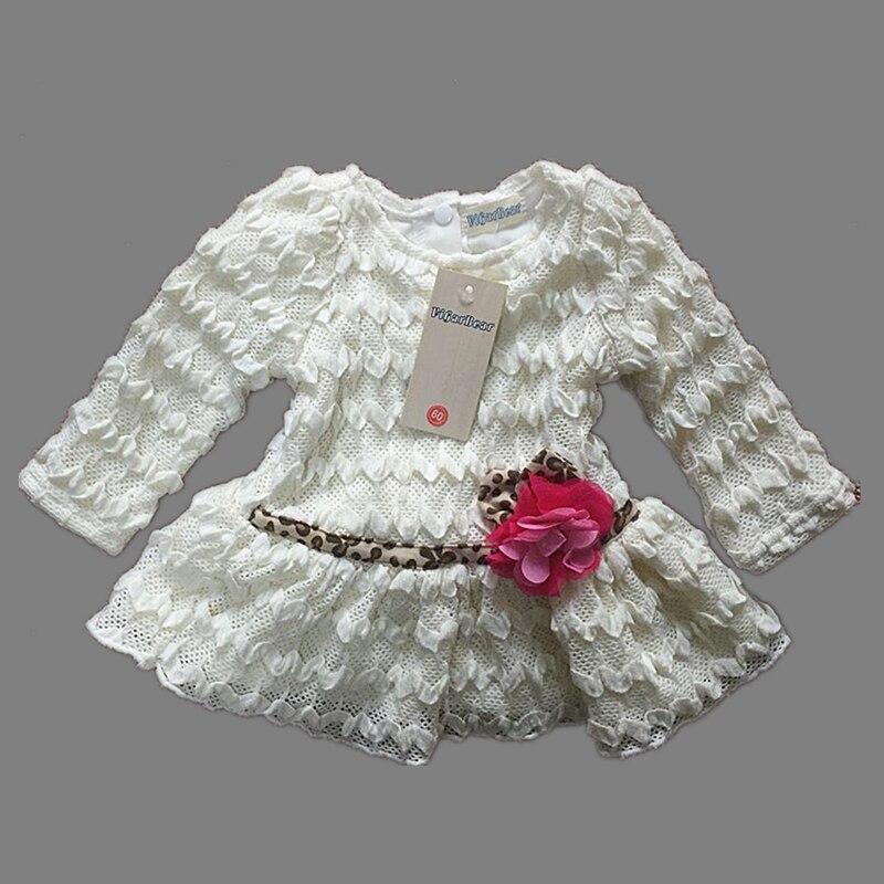 ViGarBear 2018 Fashion Newborn font b dress b font female baby font b white b font
