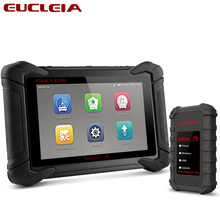 цены EUCLEIA S8 Professional Car Diagnostic Tool OBD Full System Automotive Scanner ECU Coding Factory Programming J2534 OBD2 Scanner