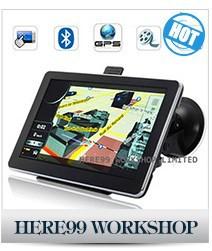 от солнца для универсальный 7 дюймов авто GPS с навигатор 6 дюймов стол ПК + бесплатная доставка