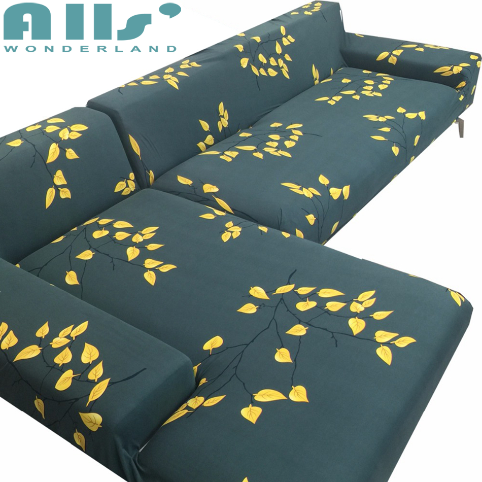 Cheap universal Sofa cover flexible Stretch Big Elasticity Couch cover Loveseat sofa Funiture Cover flower Machine Washable ...