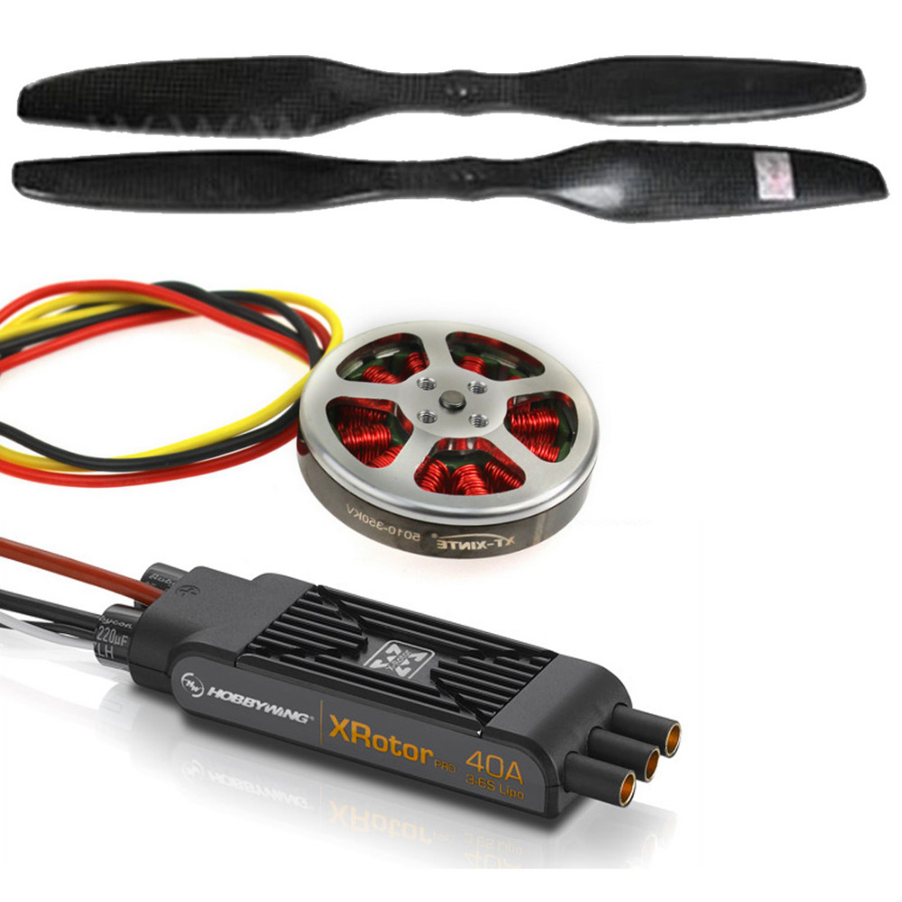 8-Axle Octocopter Drone Kit With Electronic Retractable Landing Skid 3