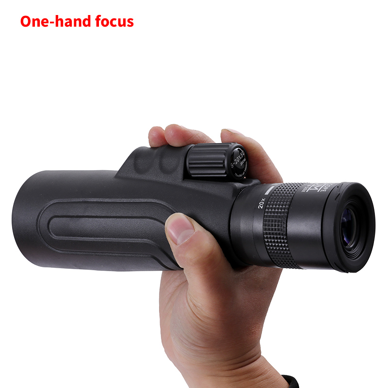 Image 4 - SCOKC Monoculars 8 20x50 High Powered Zoom Monocular Telescope FMC BAK4 Prism for Hunting Concerts Traveling Wildlife Scenery-in Monocular/Binoculars from Sports & Entertainment