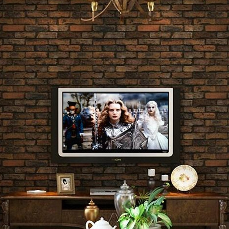 beibehang wallpaper 3D wallpaper stone brick design background wall vinyl wallpaper modern for living room papel de parede R220 beibehang stone brick wall 3d wallpaper roll modern retro pvc vinyl wall bedroom living room background wallpaper for walls 3 d