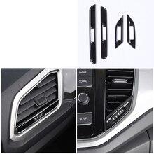 lsrtw2017 titanium black car dashboard vent control trims for volkswagen t-roc 2017 2018 2019 2020 lsrtw2017 titanium black car armrest rear anti kick pedal for volkswagen t roc 2017 2018 2019 2020