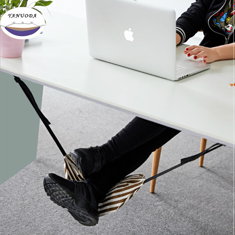 Fashion Indoor Light Portable Desk Foot Rest Hammock Aircraft Office Carry-on Chair For Feet Moves Bag Custom Hamaca HamacFashion Indoor Light Portable Desk Foot Rest Hammock Aircraft Office Carry-on Chair For Feet Moves Bag Custom Hamaca Hamac