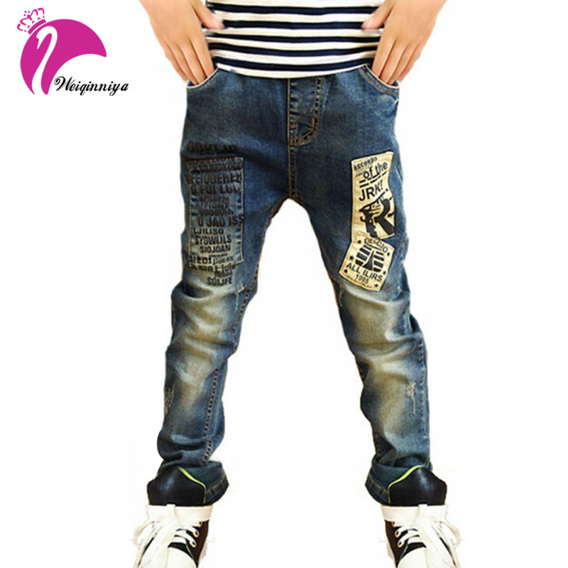2017 High Quality Fashion Children Jeans For Boys,Slim Fit Korean Children's Jeans,Baby Boys Pants,Kids Boy Jeans Free Shipping