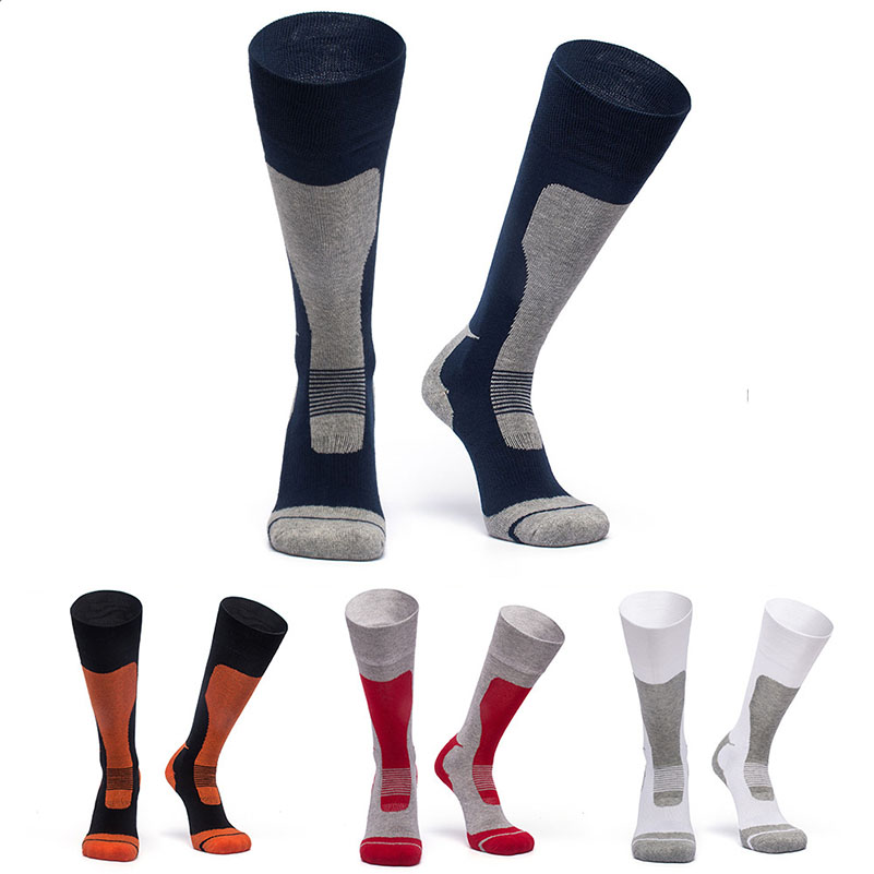 New 1pair Winter Thermal Ski Socks Cotton Sport Snowboard Long Socks Wearable Thermosocks calcetines de ciclismo