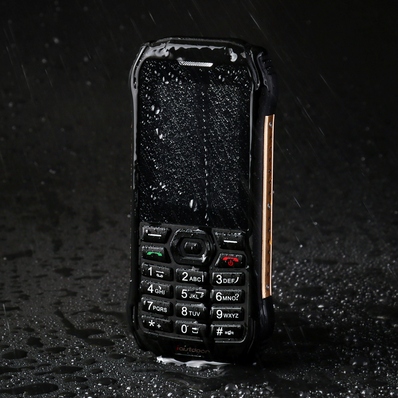 Mobile phone ioutdoor F1 GSM Dual Sim CellPhons 2 4Inch 1700 IP68 Waterproof FM Unlocked Rugged
