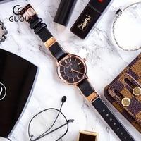 Classical Retro Simple Woman's Watches Genuine Leather Women Casual Quartz Wristwatch Female Leisure Watch Relogio Feminino