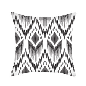 Image 3 - Black & White Geometric Throw  Pillow Cover Soft Comfortable Pillow Covers Square Cushion Case For Sofa Bedroom Car 2019 New