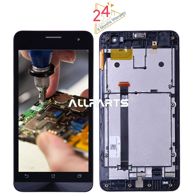 """Tested 5.0"""" 1280x720 IPS LCD For ASUS Zenfone 5 LCD Touch Screen Digitizer For ASUS Zenfone 5 Display T00J A500KL A500CG A501CG"""