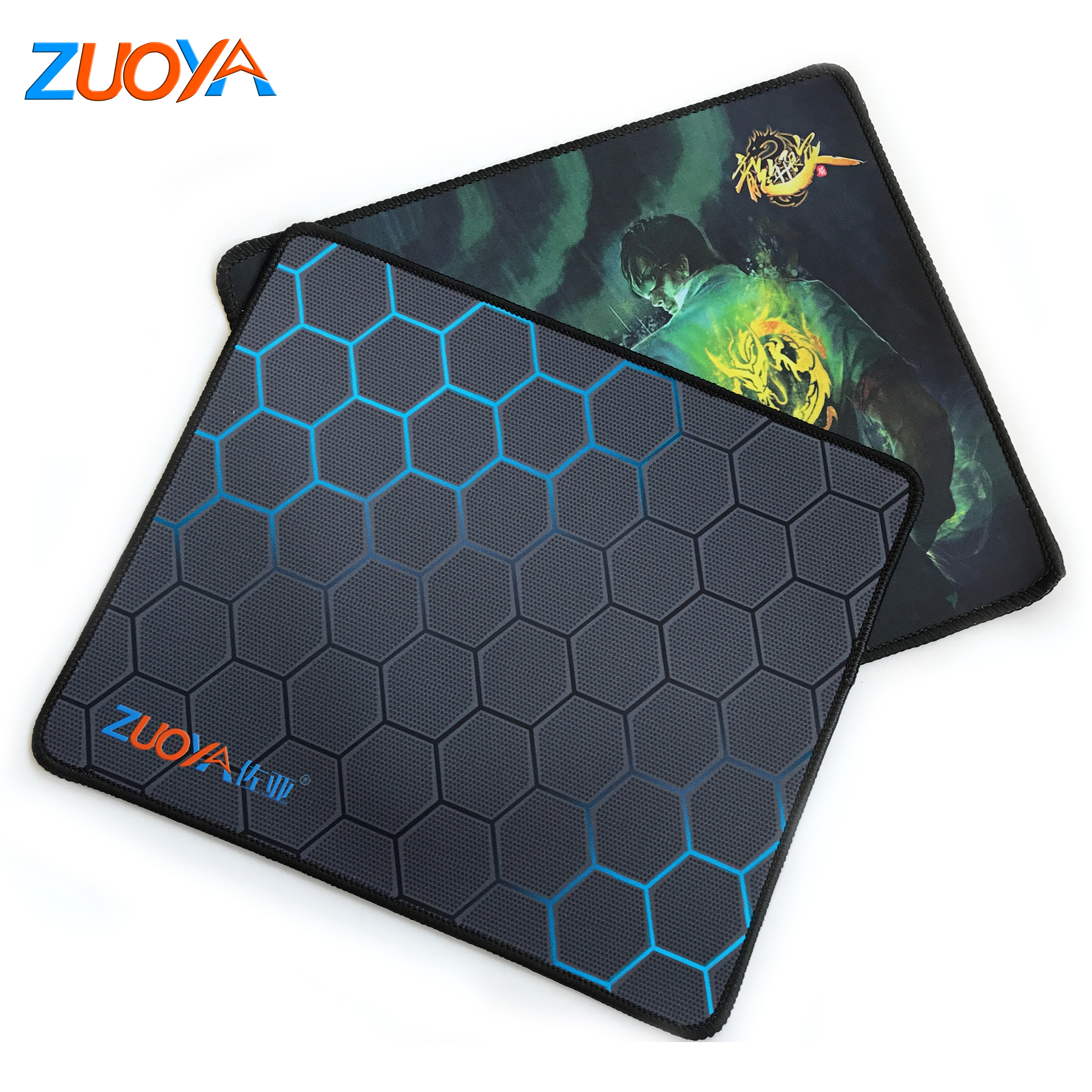 Gaming Mouse Pad Gamer Computer Anti-slip With Locking Edge Mousepad Natural Rubber Surface Mause Keyboard Desk Mat Game Office