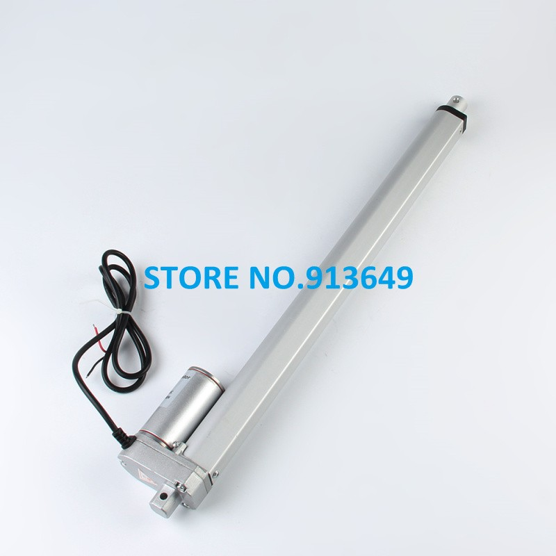 12V ,750mm linear actuator ,100N/10KG-30inch-,Electric actuator motor все цены