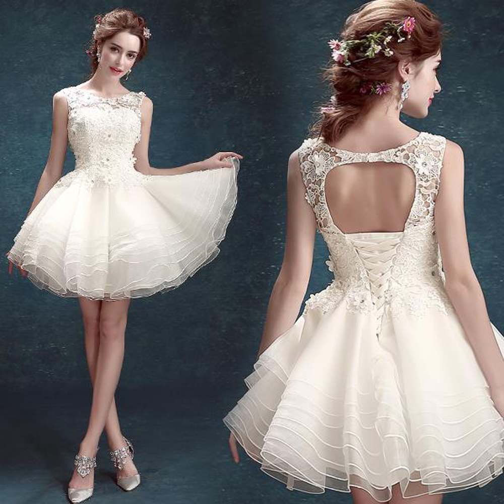 beautiful brides mini wedding dress Mini Wedding Dress max Mara Collection CYDONIA mini dress in milk white double satin and silk blend with a couture bow at the waist