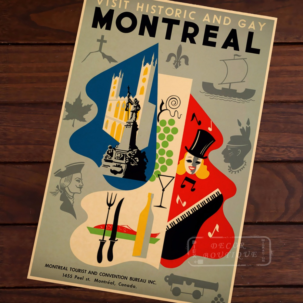 Buy poster montreal and get free shipping on AliExpress.com