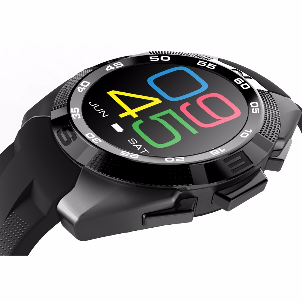 240 240Pixels Smart Watch No 1 G5 Smartwatch Heart Rate Fitness Tracker Sport Clock Inteligente Pulso