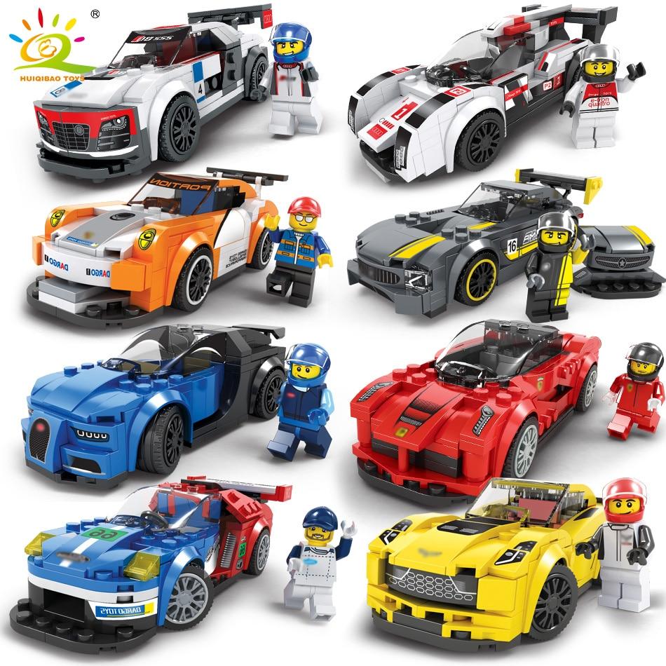 Roadster Racing Auto Aferraried Modell Bausteine Kompatibel Legos Technic Stadt Figuren Erleuchten Ziegel Spielzeug Für Kinder