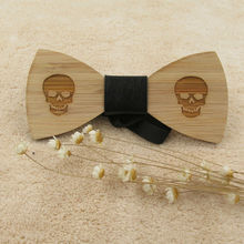 Wooden Bow Tie Classic Styles