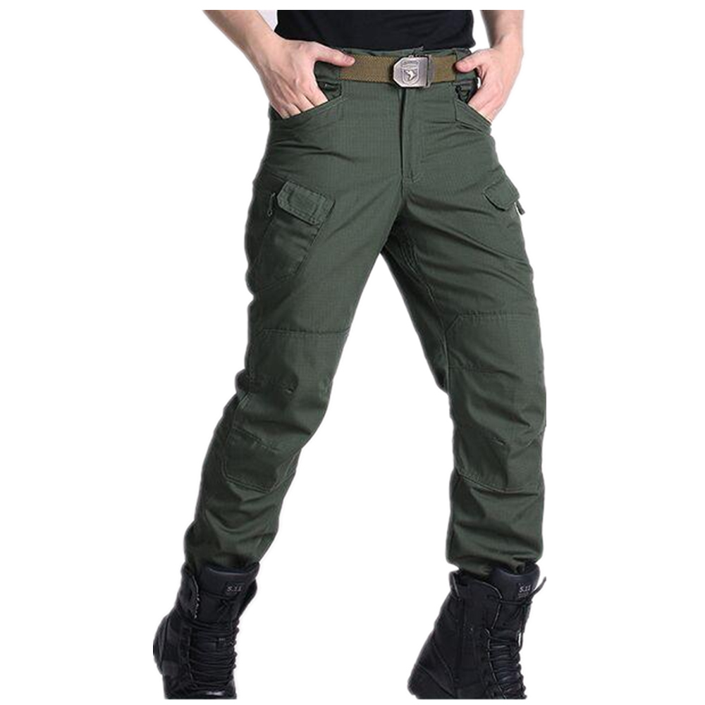 military pants men tactical IX7 slim cargo pants SWAT Army Training trousers hunting clothing lager size 28 to 40 ganyanr brand military tactical cargo outdoor long pants men army training cotton hunting hiking outdoors sports trousers solid