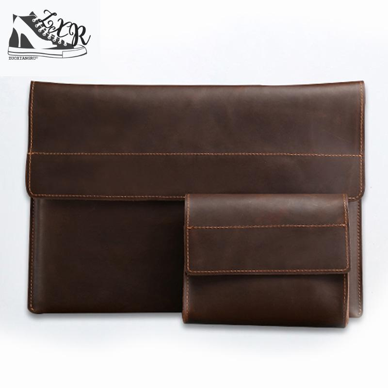 Zuoxiangru Top Sell Fashion Simple Dot Famous Brand Business Men Briefcase Bag Leather Laptop Bag Casual Man Bag Shoulder Bags