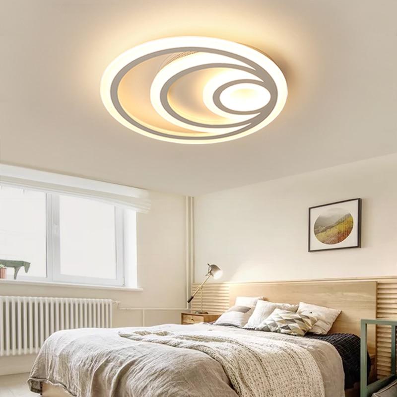 led ceiling lights Living room lamp simple modern bedroom light Nordic creative atmosphere children room led lights
