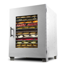 2018 Commercial High Lion Food Bake Fruit Tea Air Dryer Household Dried Fruit Machine Fully Automatic Large Dehydrator