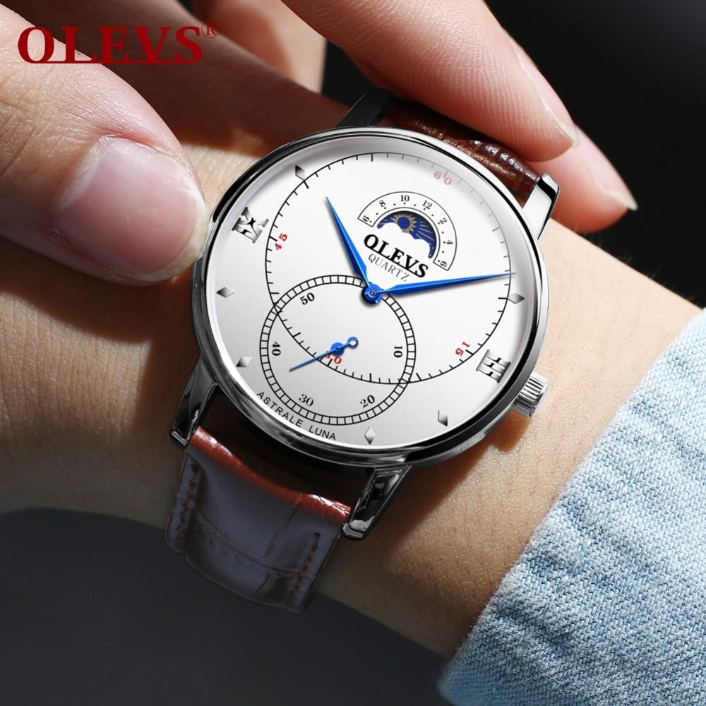 e7db7eb6ee3 OLEVS Senhoras Marca Top Cinta Cerâmica Relógio de Pulso de Luxo de Ouro  Dial Mulheres Relógios. R  123